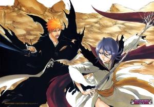 Ichigo vs Dark Rukia